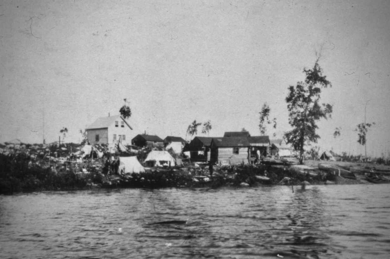 Inondation d'Opitciwan 1916