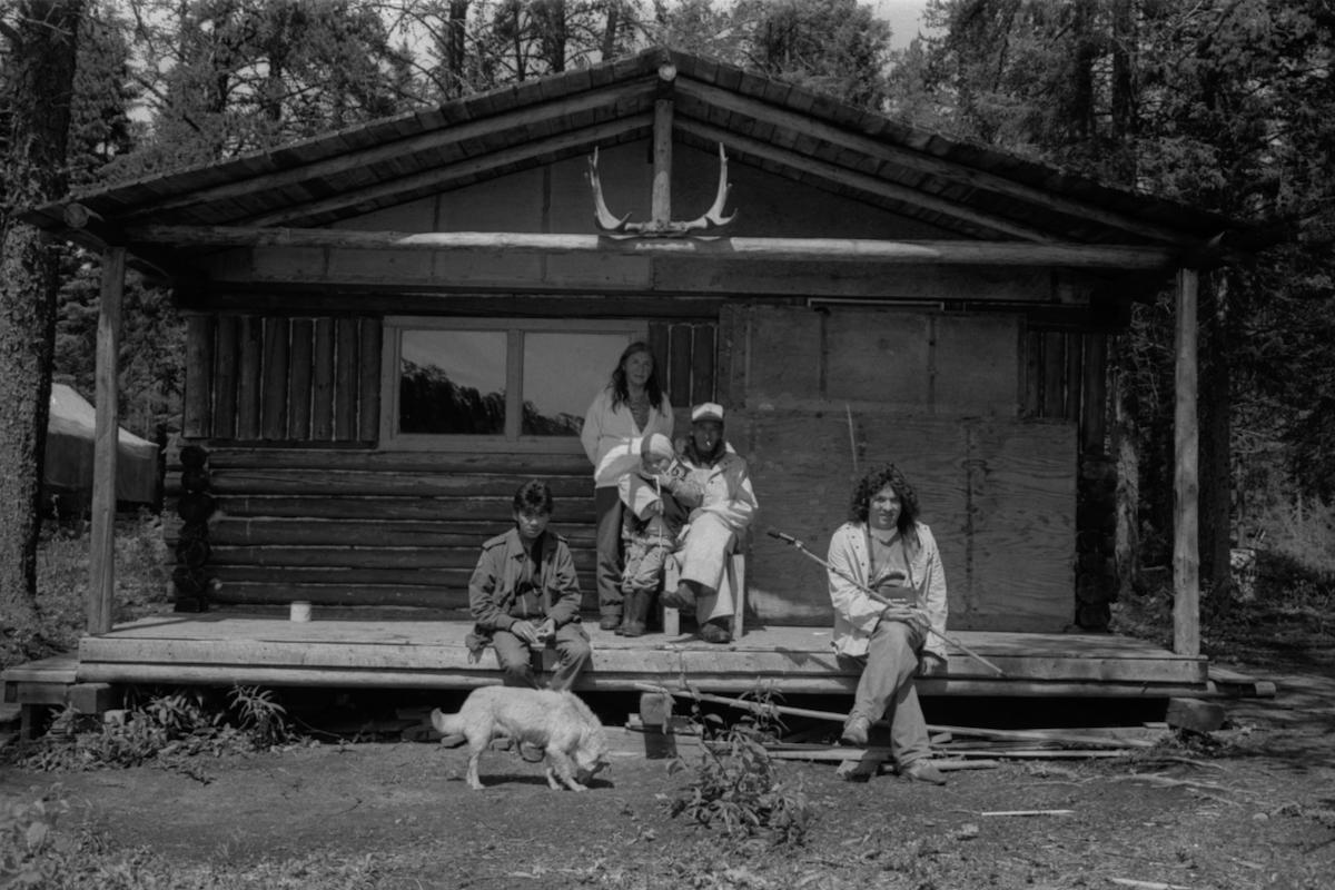 Chalet en territoire familial Atikamekw