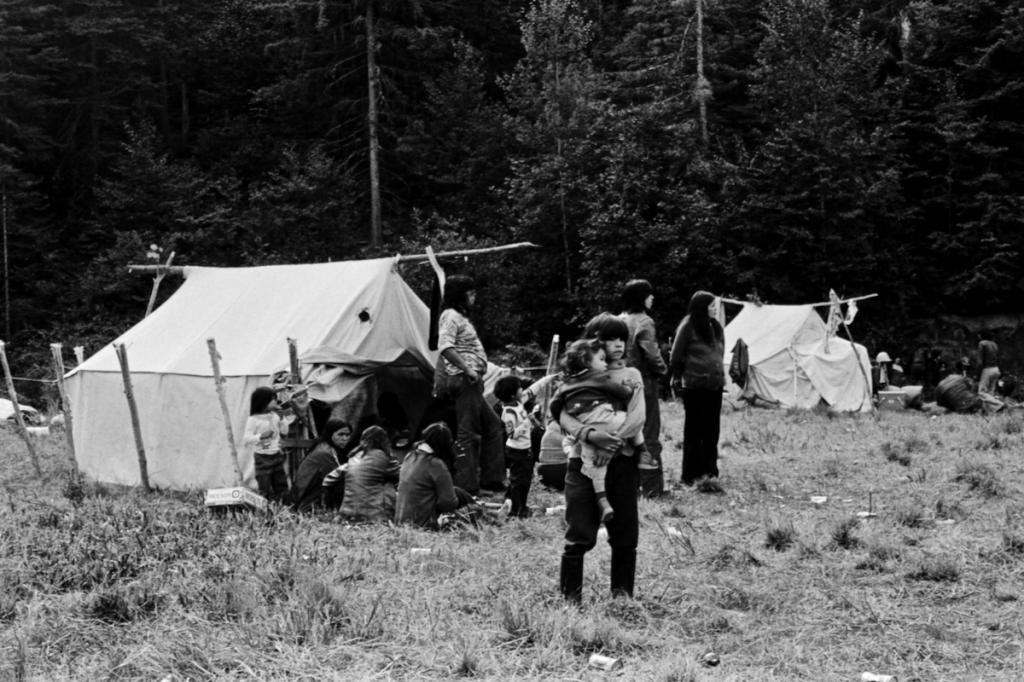 Tentes rassemblement Wemotaci