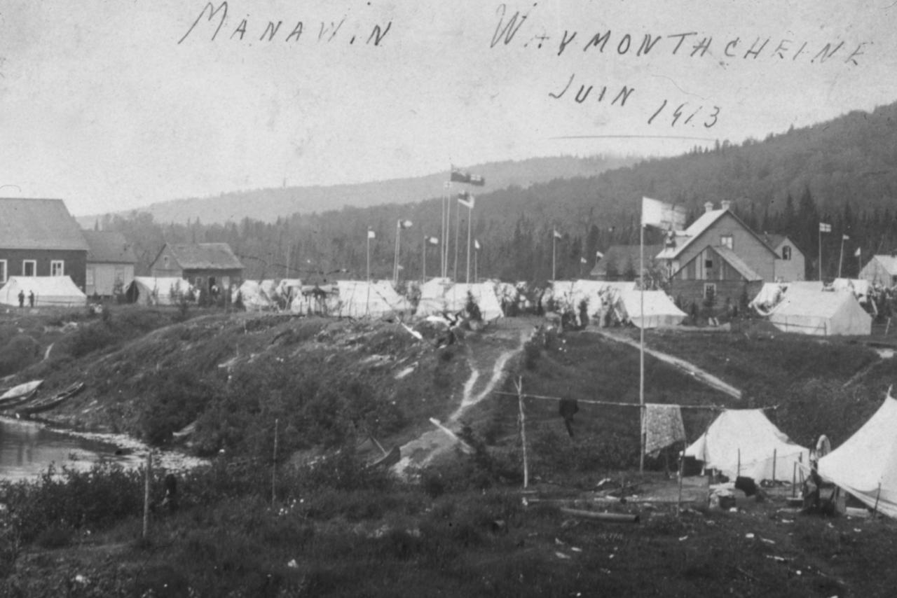 Grand rassemblement Atikamekw Wemotaci 1913