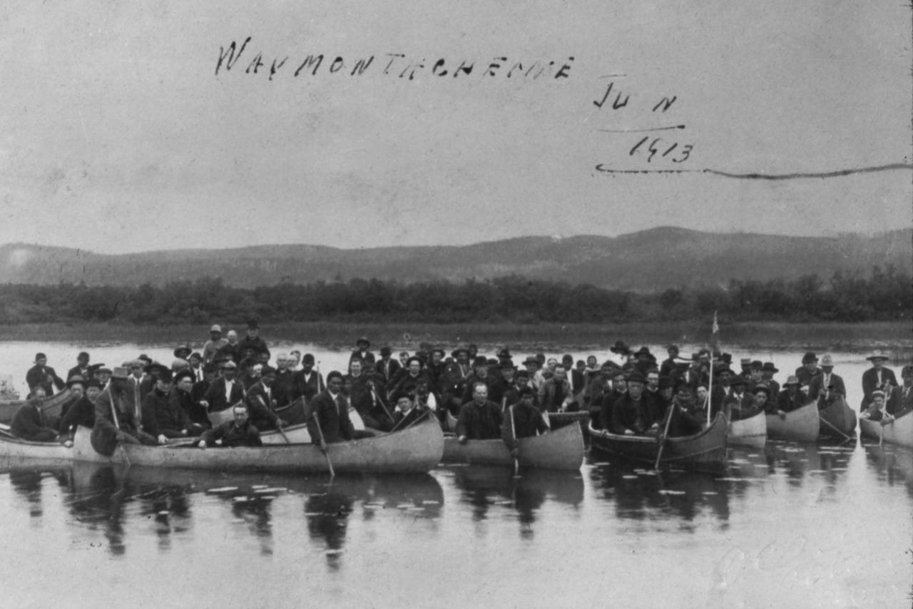 Visite Mgr Latulipe Wemotaci 1913